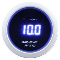 DEPO óra, műszer DBL 52mm - Benzin-levegő keverék, AFR